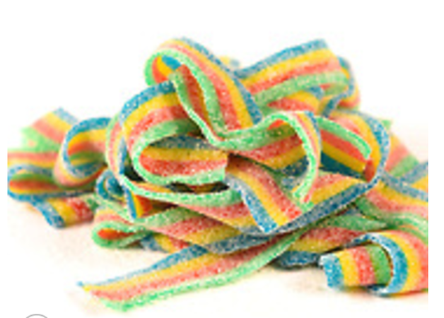 Rainbow Marijuana Gummy Candy